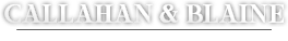 Callahan & Blaine Arizona's Premier Litigation Firm